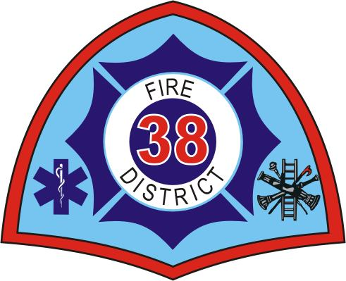 District 38 Logo