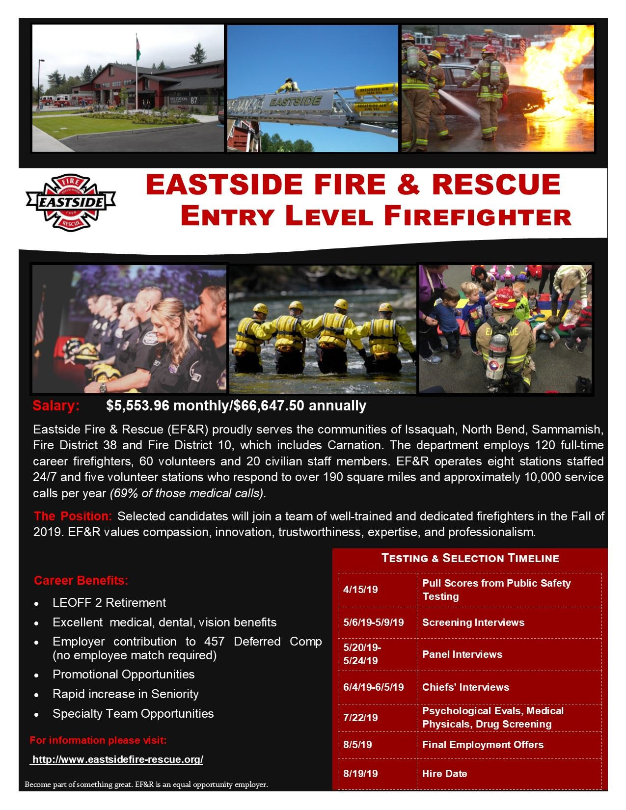 EFR Employment Flyer - Entry Level Hire