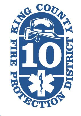 District 10 Blue Logo